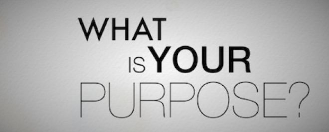 Do You Want To Discover Purpose?