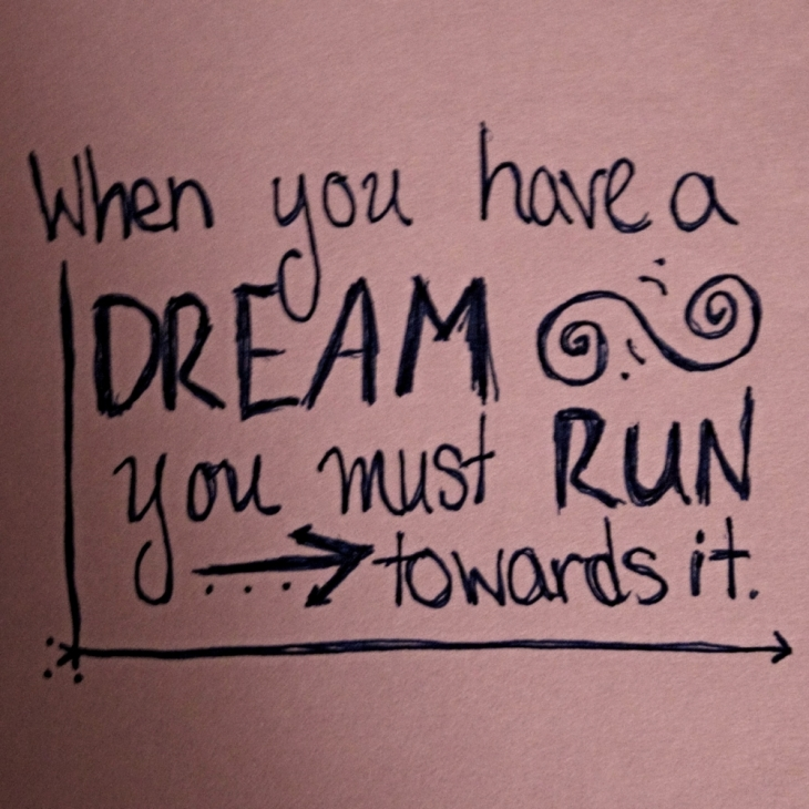 Image result for run with your dream