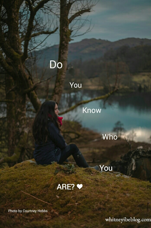 Do You Know Who You Are?: MondayReflection