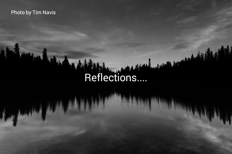 Reflections…