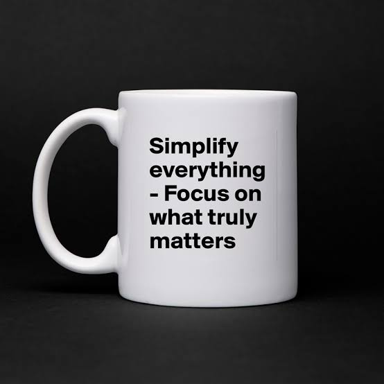 Focus On Things That Matter No Matter How Small TheyAre